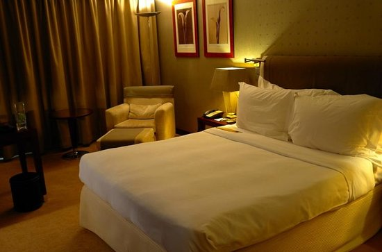 InterContinental Lisbon: Bed area