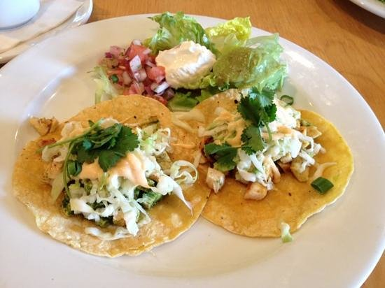 Mildred's Big City Food: Baja chicken tacos.... YUMMY