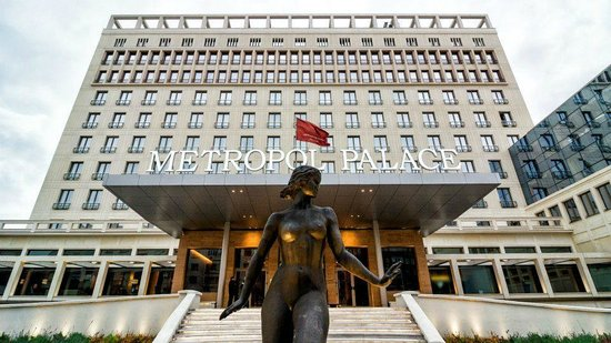 Metropol Palace, A Luxury Collection Hotel : Hotel facade