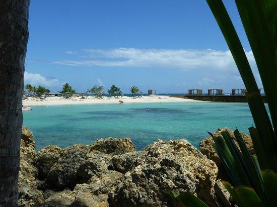 La Creole Beach Hotel: vue depuis le restaurant le Zawag