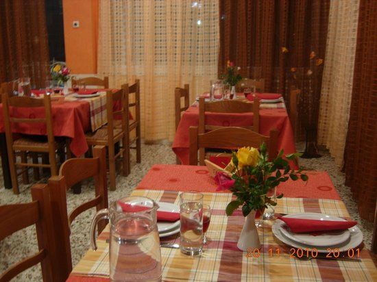 Hotel Panorama: Indoor dinning area
