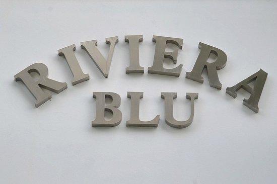 Hotel Riviera Blu: Insegna
