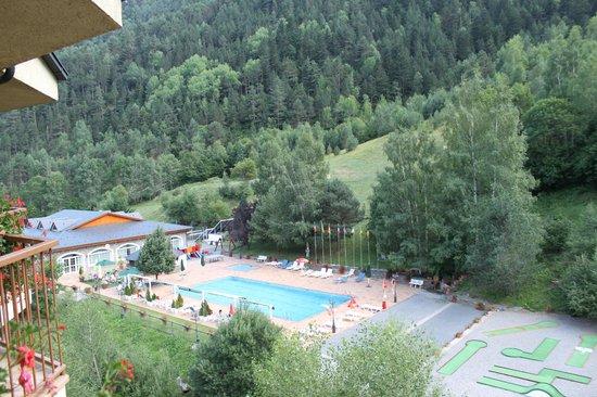 St Gothard Hotel: La Piscina y zona deportiva.