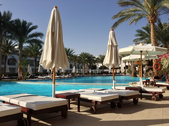 Baron Palms Resort Sharm El Sheikh: Pool view
