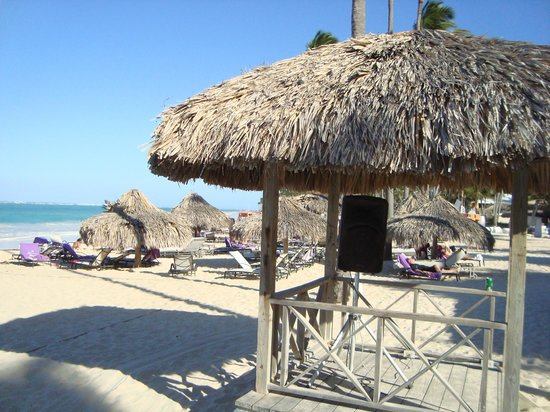 Paradisus Punta Cana: This is part of the beautiful beach