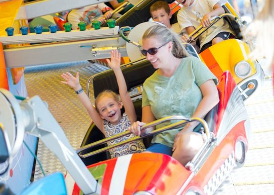 Tipton, เพนซิลเวเนีย: Swing Buggy at DelGrosso's Amusement Park