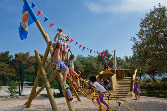 Camp Kovacine: Children's playground