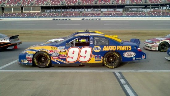 Dale Jarrett Racing Adventure: Just a few of the race cars