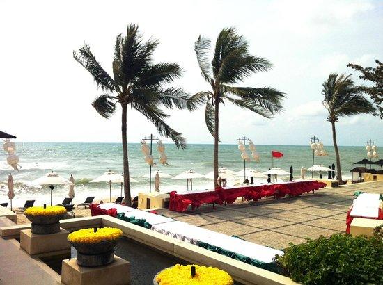 Pavilion Samui Villas & Resort: plage