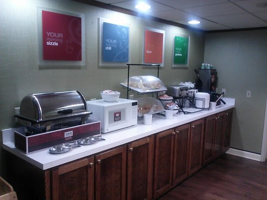 Comfort Inn : Breakfast Area