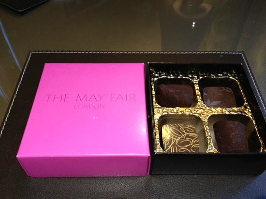 The May Fair Hotel: Complimentary Chocolates