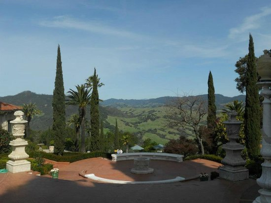 Hearst Castle: The View