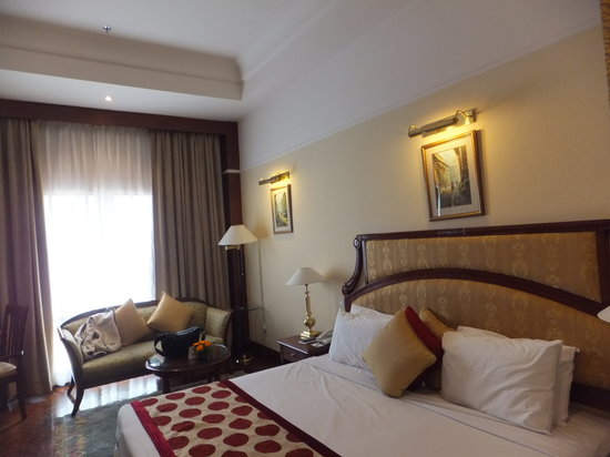 Radisson Hotel Kathmandu: bed (room No. 235)