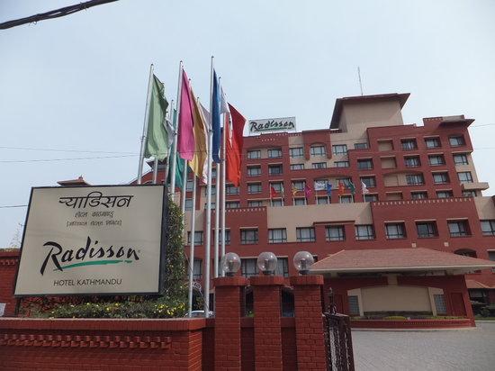 Radisson Hotel Kathmandu: outside view
