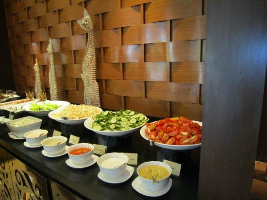 Melia Bali: 朝食 フルーツも多い