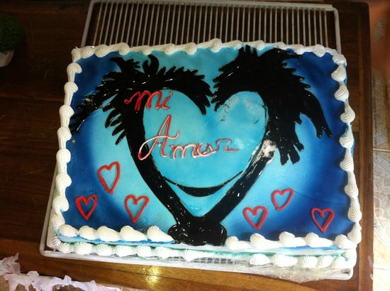 Valentine's day party cake
