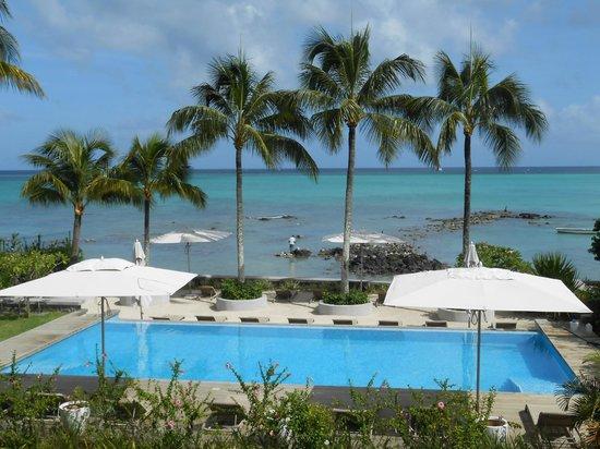 Mon Choisy Beach Resort: vue sur la mer