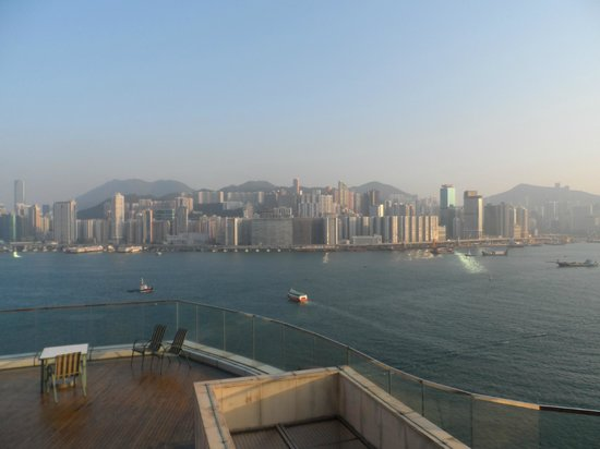 Harbour Grand Kowloon: View from top of hotel