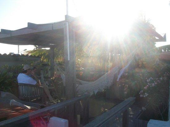 Posada La Cigala: Terraço
