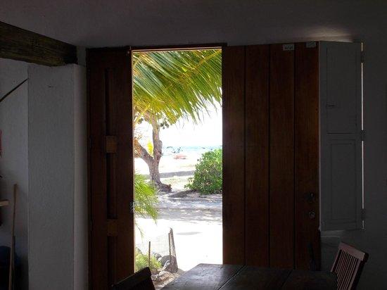 Posada La Cigala: Vista da porta