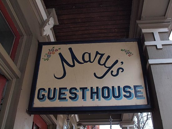 Mary's Guesthouse: Welcome