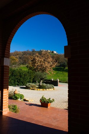 Saturnia Tuscany Hotel: particolare dalla struttura