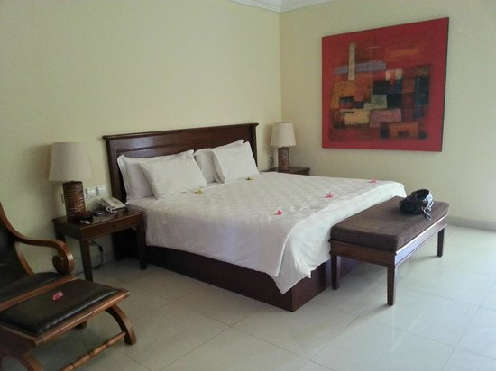 Villa Grasia Resort & Spa: Our bed