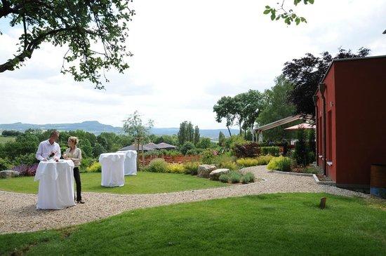 Berggasthof Banzer Wald: Unser Empfangsbereich für Feierlichkeiten im Sommer