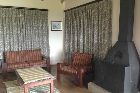 Sungubala Eco Camp: Chalet Lounge Area