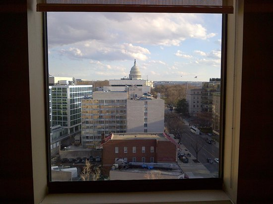 Washington Court Hotel on Capitol Hill: Capital View from my floor