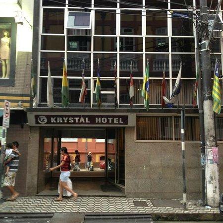 Krystal Hotel Manaus: Fachada