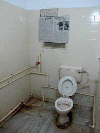 "Hotel Shree Maya: the bathroom of the so called ""presidential room"""