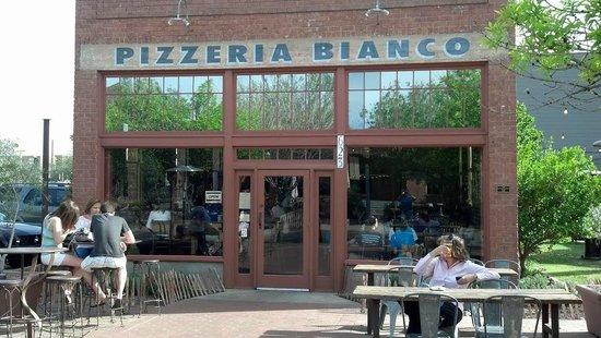 Pizzeria Bianco Exterior Seating
