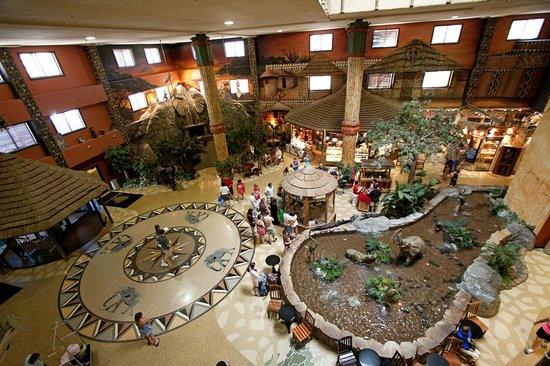 Welcome To Kalahari Main Lobby Picture Of Kalahari Resorts