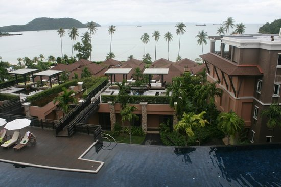 Pullman Et Panwa Beach Resort Radisson Blu Pool And During Overcast