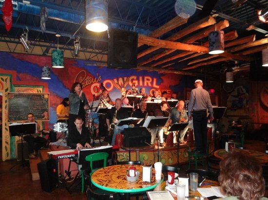 Patsy's Cowgirl Cafe: Big Band Wednesday at Patsy's