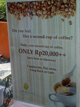 The Villas Bali Hotel & Spa: Outrageous!