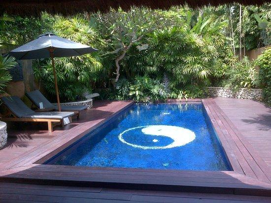 The Villas Bali Hotel & Spa: Villa garden