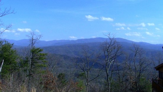 Chilhowee Mountain Retreat: What a view!