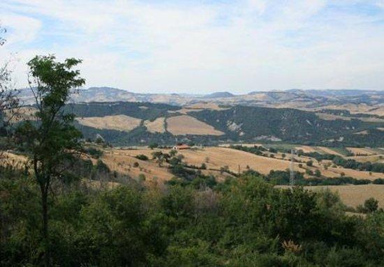 Agriturismo Fonte Martino: Panorama dalle camere