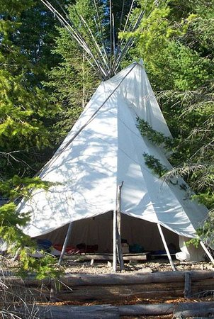 Photo of Tipi Camp Nature Retreat Crawford Bay