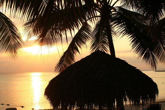 Viva Wyndham Dominicus Beach - An All-Inclusive Resort: tramonto