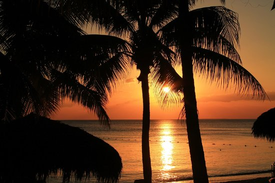 Viva Wyndham Dominicus Beach - An All-Inclusive Resort: spettacolare tramonto