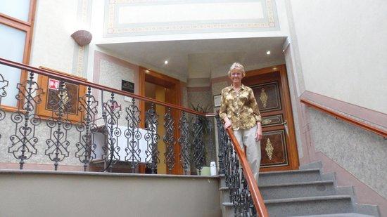 Stairs Deminka Palace.