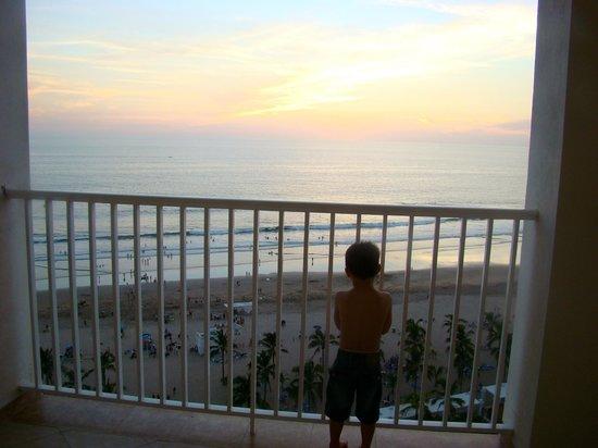 Hotel Riu Emerald Bay: 10th floor balcony