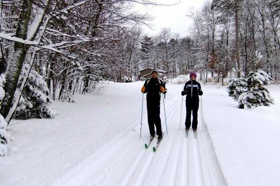 Kavanaugh's Sylvan Lake Resort: Miles of Groomed Cross-Country Ski Trails