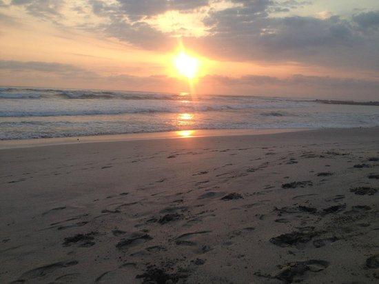 Playa Cielo: vista desde el restaurant