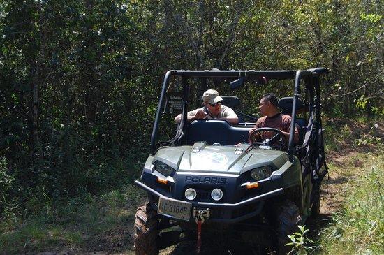 Mystic River Resort: On tour with Ebar in Polaris ATV