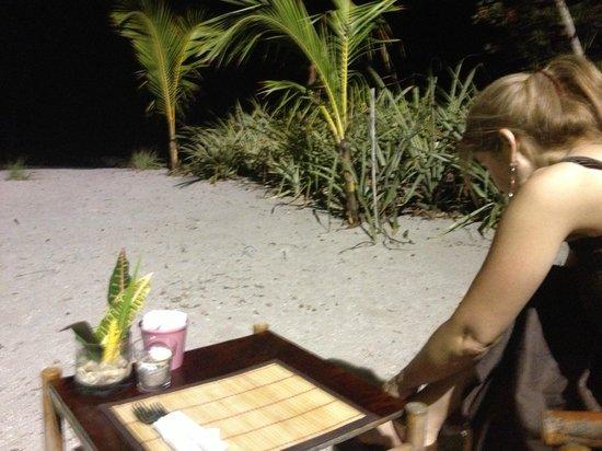 Playa Cielo: el restaurant de noche