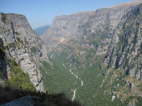 Ioannina, Hellas: De Vikoskloof en die is diep hoor